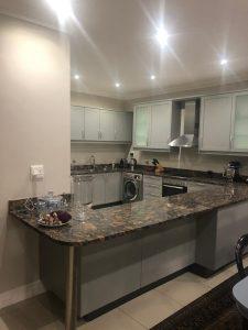 Stunning wrap kitchen